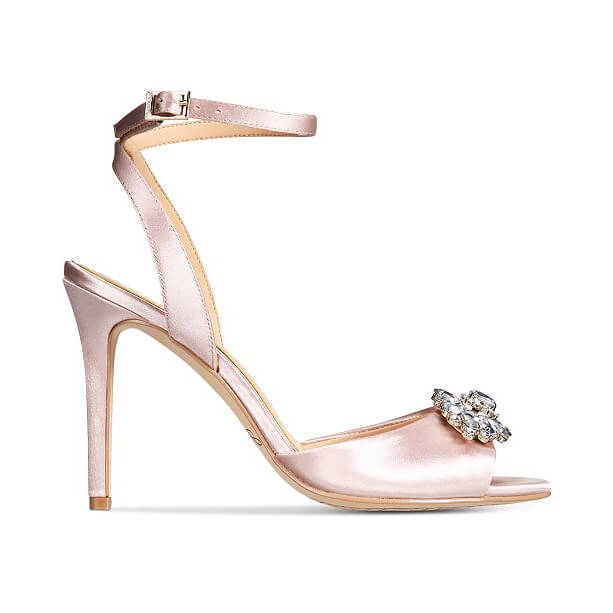 Faux Leather Flower Sandals afbeelding 0
