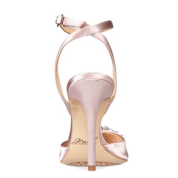 Faux Leather Flower Sandals afbeelding 1